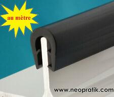 Au mètre : joint en U protection de tôle, bord tranchant, étanchéité, bricolage