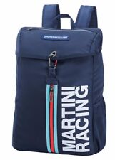 New Genuine Porsche Martini Racing Collection Backpack Rucksack Bag In Blue MR