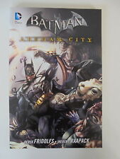 Batman arkham city 4 Fridolfs/raapack DC cómic Panini Soft Cover estado 1