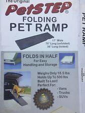 PetStep Original Folding Pet Ramp Graphite/Gray