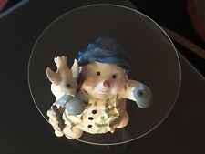 Snow-man Night Table Counter Top / Glass Acrylic Round Top / Read Down Item Spc
