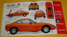 1970 Buick Opel GT 1900 Red Orange 1897cc 4 Cylinder IMP Info/Specs/photo 15x9