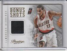 LaMarcus Aldridge 2013-14 Panini Prestige Basketball Game Used Jersey Card