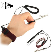 Anti-Static ESD Adjustable Wrist Strap Discharge Band Ground Bracelet electronic