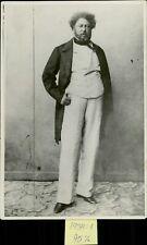 Portrait of Alexandre Dumas - 8x10 photo