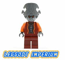 LEGO Nute Gunray - Star Wars Minifigure sw242 FREE POST