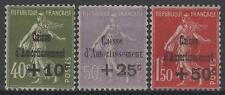 "FRANCE STAMP TIMBRE 275/277 "" CAISSE AMORT. 5e SERIE 1931 "" NEUFS xx LUXE M726"