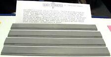 "N SCALE: ""EZ STREETS"" - 4-PC. SIDEWALK SET w/CURB & GUTTER - FNA-3001"
