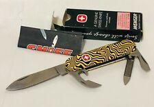 Wenger al aire libre cuchillo multi herramienta 19300 SNIFE Cebra Deportes moderno Plegable Japón