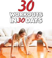 30 Allenamenti in 30 giorni + Detox piano + JUICE PLUS perdita di peso programma.3 BOOK Set!