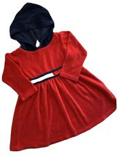 Toddler /& Girls Tommy Hilfiger $60.50 Cream /& Blue Dress Size 2T 6