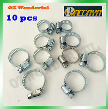 10 pcs Hose Clamps 8mm to 27mm Quality Hose Clamp Paccaya