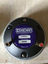 Radian 475PB-8 compression drivers