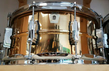 "Ludwig 14x6,5"" SUPRA PHONIC Bronzo Snare Drum USA lb552 Classic lugs/rullante"