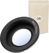 1x M42 AI ∞ Bague d'Adaptation pour Objectif M42 vers Nikon AI-F avec LENTILLE