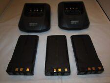 LOT OF  Kenwood TK-380 UHF FM Transceiver Radio  bases and batteries #3