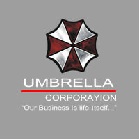 1* Umbrella Corporation Decal PET Car PET Sticker Auto Doors Scratch Waist Line