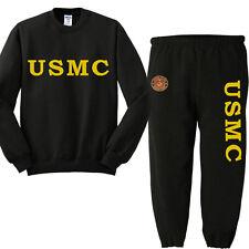 USMC sweatpants sweatshirt marine corps sweats tracksuit jogging set warm-ups