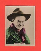 1920  5   Harry Carey  BAT CINEMA STARS, SET 5  Film Card Rare