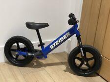 STRIDER 12 Balance Bike Blue Sport