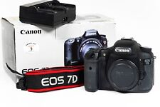 Canon EOS 7D 18.0MP Digital SLR Camera Body - Boxed - Shutter Count 11,635