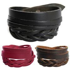 Real Lederarmband-Serie Bracelet Unisex! Bracelet Leather Bracelet Men's