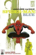 SPIDER-MAN: BLUE 1-6 VF/NM RUN LOT 6 JEPH LOEB & TIM SALE Marvel comics Amazing