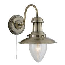 Searchlight Lighting 5412ab Fisherman Antique Brass Wall Light