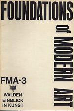 RARE! Foundations of Modern Art: FMA • 3 (Facsimile), Silver Fox Press, CT, 1974