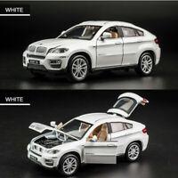 BMW X6 Alloy Car Model Off-road Pull Back Door simulation Car Children toys UK