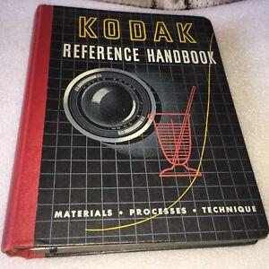 Vintage/Old Kodak Reference Handbook -1945 8 Sections!