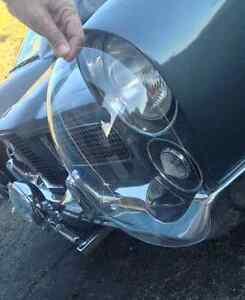 FACEL-VEGA Facellia Bubble Headlight Covers New Reproduction