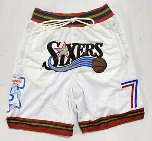 Brand New Size Medium Men's Philadelphia 76ers Shorts