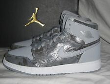 NWT Boys Mens NIKE AIR JORDAN 1 Retro Hi Prem GG Sneakers 819664 004- size 7Y