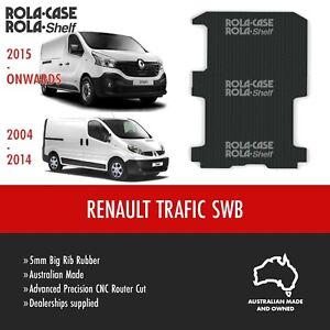 Renault Trafic SWB Genuine Big Rib Rubber Cargo Van Flooring 5mm Computer Cut