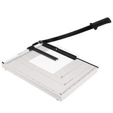 """12x10"""" Metal Base Paper Cutter Trimmer Scrap Booking Desktop 15 Sheet Guillotine"""