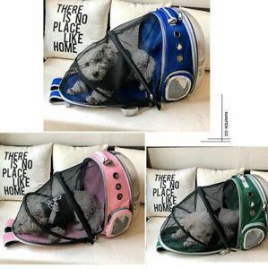Pet Backpack Cat Portable Large Space Capsule Bubble Shoulder Tent Cage Portable