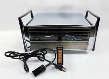 Vintage Mid Century Retro Dominion Oven Broiler Model 2530 Chrome Tested