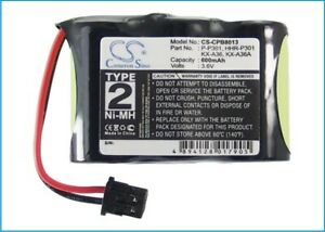 Replacement Battery For Radio Shack 3.6v 600mAh/2.16Wh Cordless Phone Battery