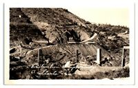 RPPC Construction Supply Bridge 69, Shasta Dam Real Photo Postcard *5Z9