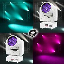 Equinox Fusion 120 zoom MKII (blanco) cabeza Móvil DJ discoteca escenario Led