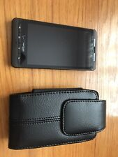 motorola droid x2 With Leather Belt Case