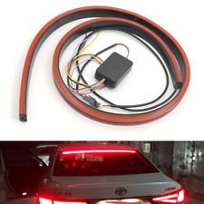 "39"" Flexible LED Car Roofline Brake Light Bar Flowing Rear Windscreen Stop Lamp"
