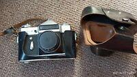 ZENIT E Popular Soviet/Russian 35mm SLR Camera, Industar-50-2 (3.5/50) vintage