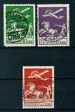 Denmark Airmail Stamps - Scott # C1-3 - Used Fine - Cat. Value $232.50 (S49)