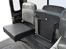 Land Rover Defender Rear Inward Facing Folding Seat - Black Vinyl DA4067