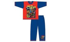 Pijamas y batas multicolores conjuntos de 100% algodón para niño de 2 a 16 años