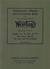 Manuals/Handbooks Norton Motorcycle Manuals & Literature