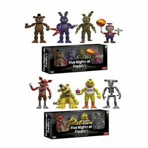 4 Pack FNAF Five Nights at Freddy's Action Figur Modell Spielzeug Chica Freddy
