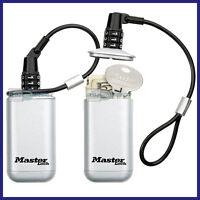 Master Lock 5408D Portable Mini Combination Key Safe